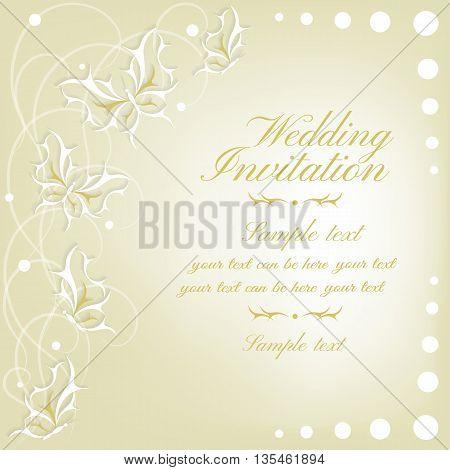 Abstract  Invitation Card