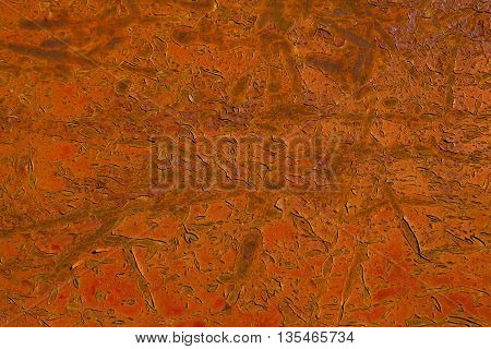 Old Reddish Rusty Background