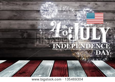 Independence day graphic against independence day graphic