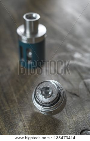 Electronic cigarette Atomizer Replacement Head in close up