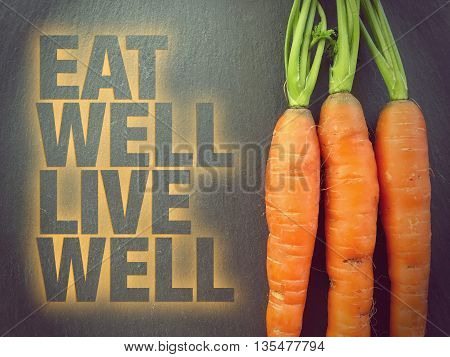 Eat Well Live Well - Wellness Concept