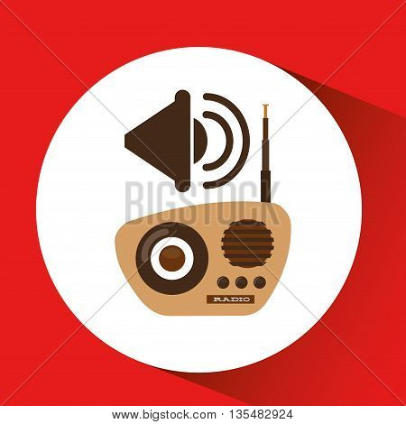 retro music design, vector illustration eps10 graphic