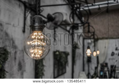 Vintage Lighting decor ( Filtered image processed vintage effect. )