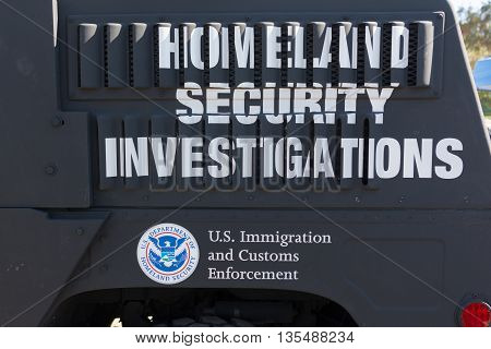 United States Department Of Homeland Security Logo
