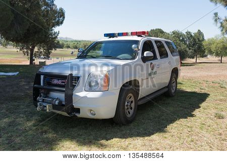 Park Ranger Vehicle During Los Angeles American Heroes Air Show