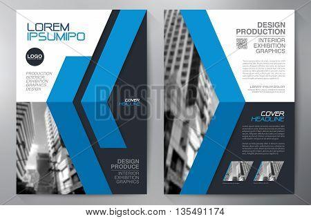 Business Brochure Flyer Design A4 Template.