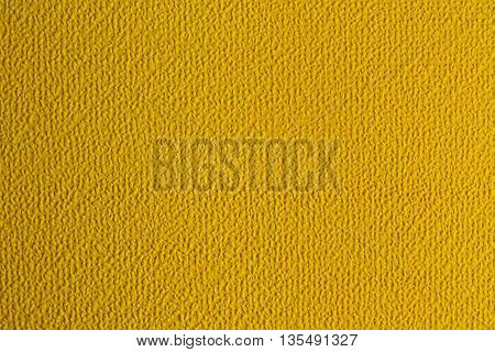 Dimples Surface Background. Texture relief Yellow color