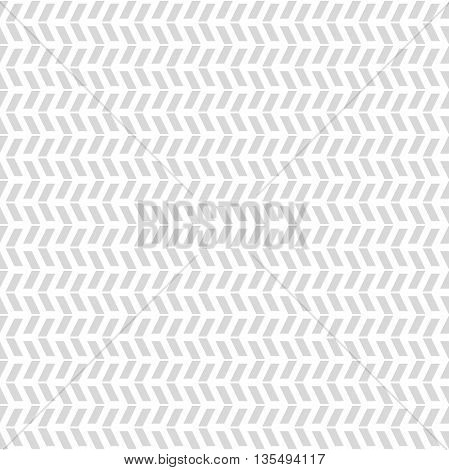 Geometric pattern with light gray triangles. Seamless abstract background