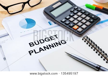Budget Planning With Financial Data