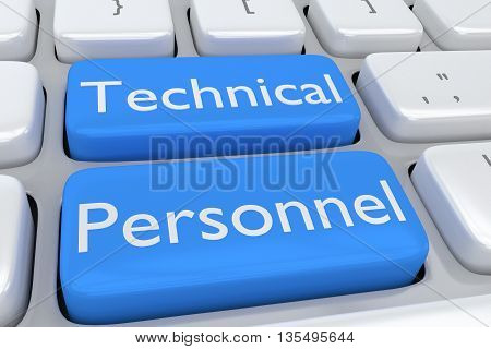 Technical Personnel - Human Resource Concept