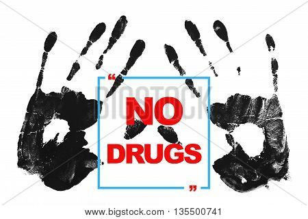 No drugs - International Day against Drug Abuse