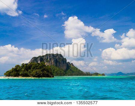Idyllic Seascape Sunny Waters