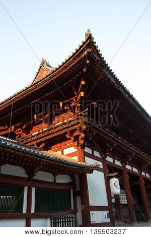detail of classic architecture in hokkaido japan