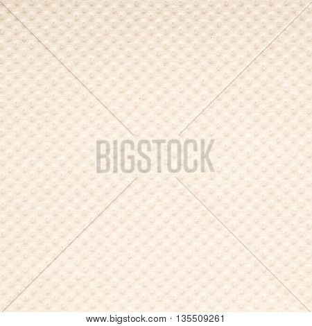 Closeup surface paper pattern of brown toilet paper texture background