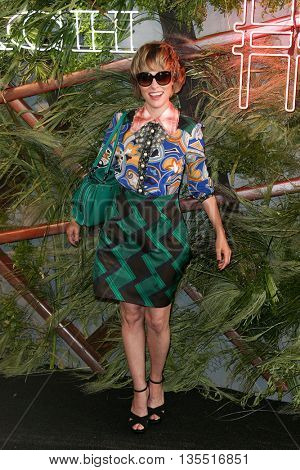 NEW YORK-JUNE 22: Parker Posey attends the 2016 Coach And Friends Of The High Line Summer Party at The High Line on June 22, 2016 in New York City.