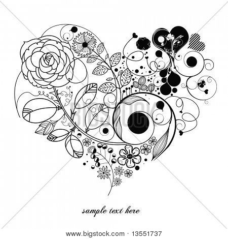 love-vintage flower