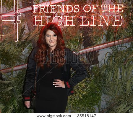 NEW YORK-JUNE 22: Meghan Trainor attends the 2016 Coach And Friends Of The High Line Summer Party at The High Line on June 22, 2016 in New York City.