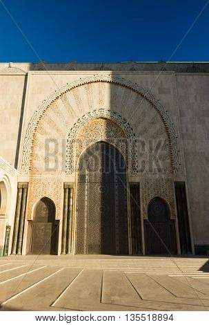 beautiful decoration architecture islamic church hassan 2