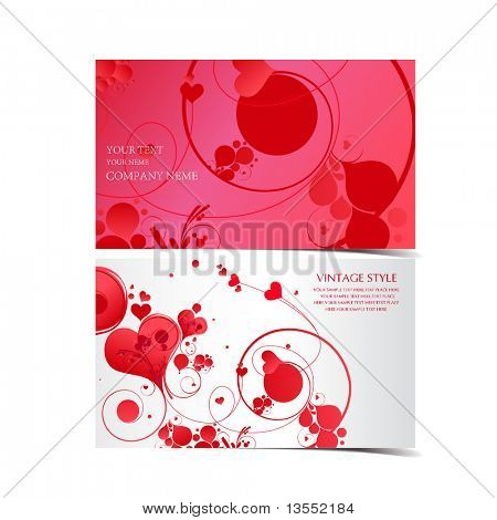 love-business card