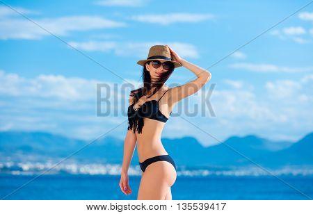 Young Woman In Greece
