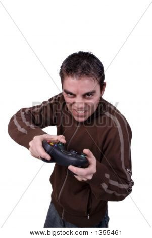Angry Game Player 2