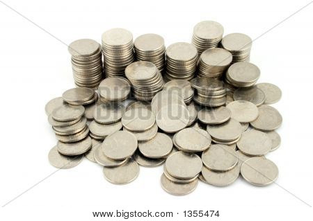 Money - 10 Pence Pieces 2