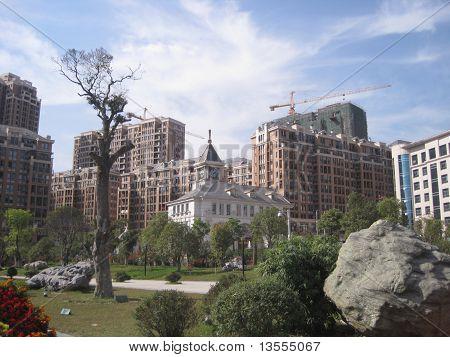 Developing Chinese inland City