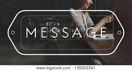 Communication Connection Socialize Message Friends Concept