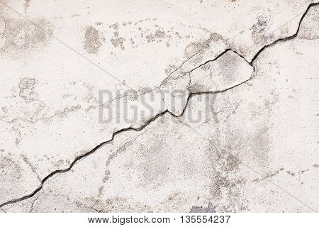 Black and white cracked concrete walls. concrete wall background for any design