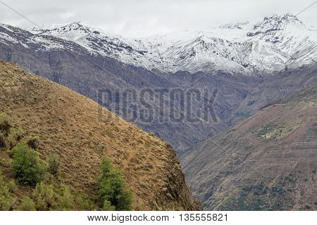 San Alfonso Valley, Trail In The  Mountain