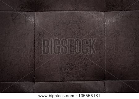 Close up of old leather texture background.