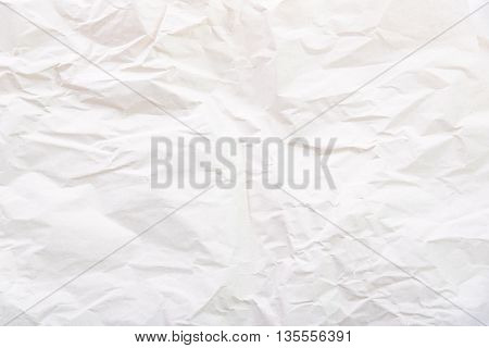 Close up of wrinkle paper texture background.