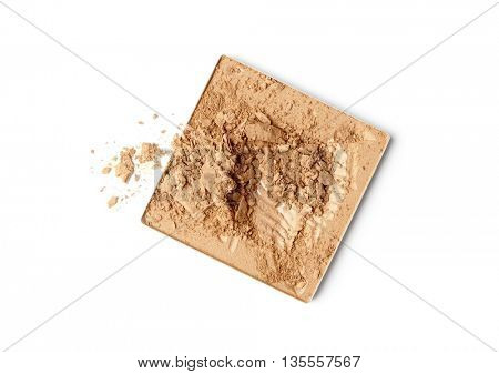 face powder color sample - make-up for fashion and beauty magazines