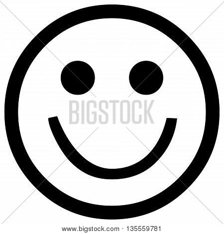 Smiling face icon isolated smiley face smiling computer icon