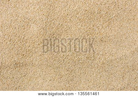 A closeup shot of sand on the beach