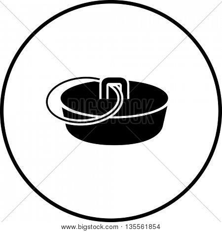 bathtub plug symbol