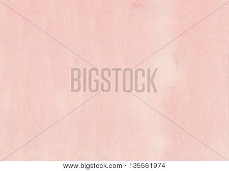Abstract Pink Watercolor Background