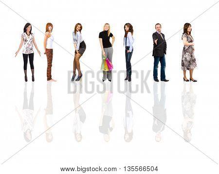 Office Idea Isolated Groups