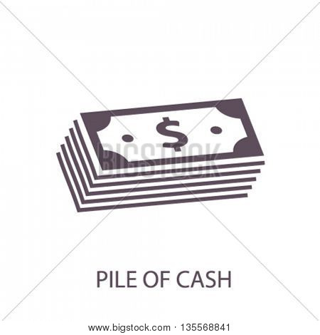 pile of cash icon