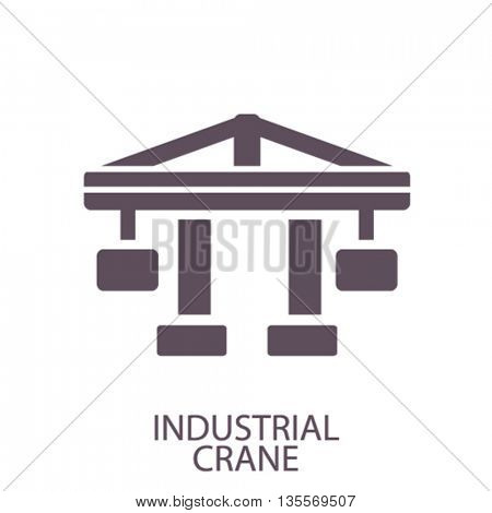 industrial crane icon