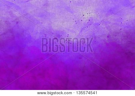Abstract Colourful Watercolour Background In Shades Of Blue And Purple