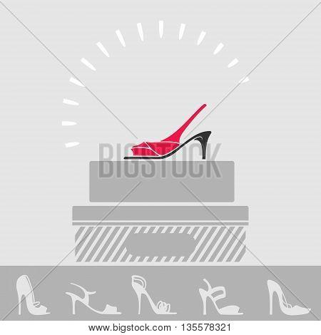 Shop Women Shoes Showcase eps 8 file format