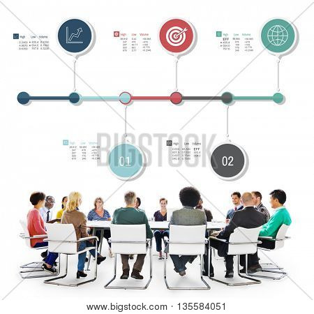 Analysis Data Diagram Infographic Information Concept