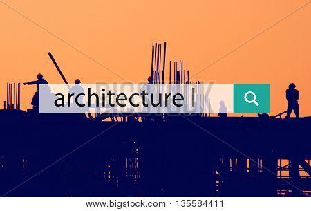Architect Building Construction Structure Design Concept