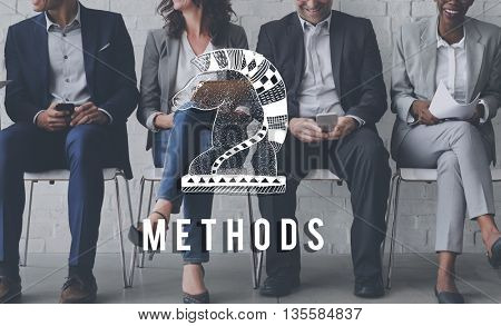 Methods Approach Form Order Practice Routine Concept