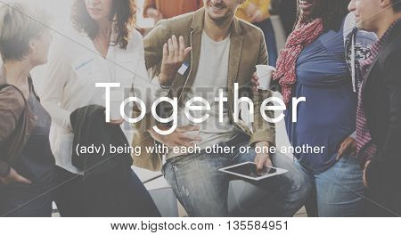 Together Community Family Friends Support Concept