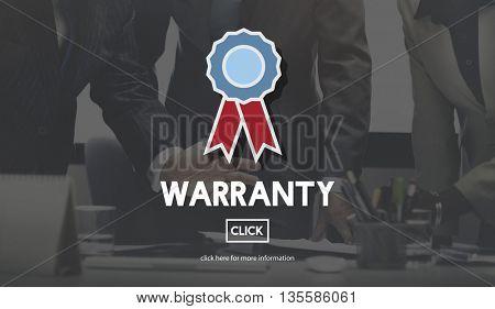 Warranty Quality Control Guarantee Satisfaction Concept