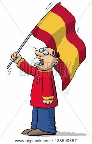 Spain Soccer Supporter