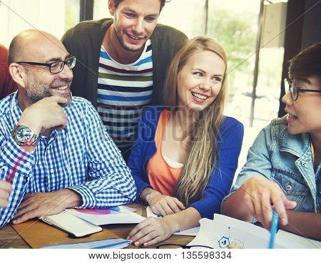 Designing Discussion Ideas Plan Team Concept