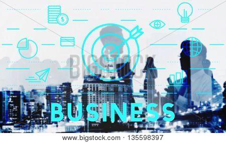 Business Commercial Corporate Enterprize Growth Concept